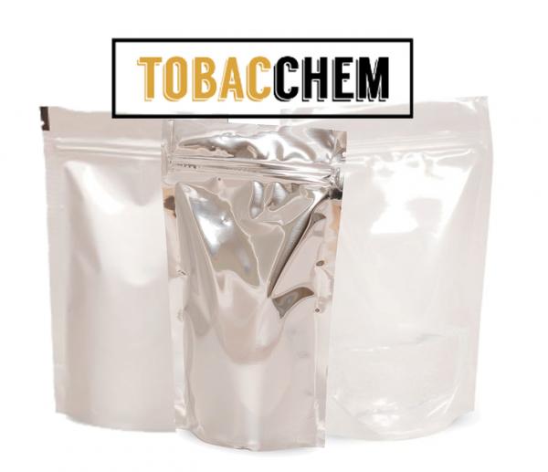 BEZBARWNY DOYPACK na tytoń/susz - 100SZT różne rozmiary