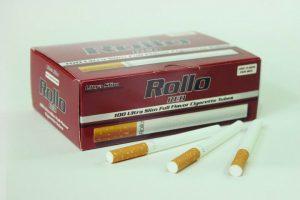 Gilzy tutki Rollo Ultra Slim Red karton 10x200 szt