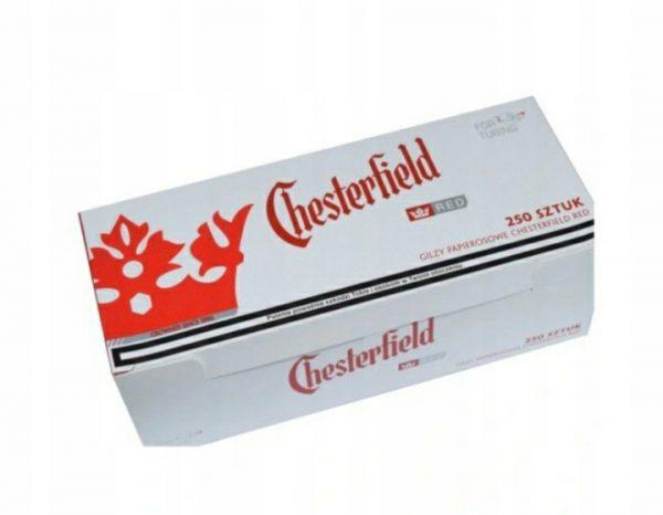 GILZY Chesterfield Red 40x250 szt.