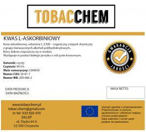 WITAMINA C 100% Kwas l-askorbinowy