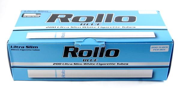 Gilzy tutki Rollo Ultra Slim Blue karton 50x200 szt